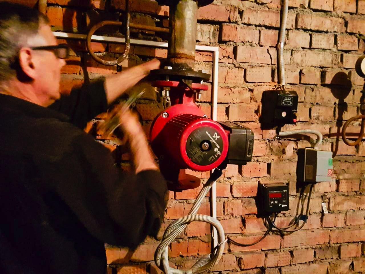 Установили новые фильтры и запорную арматуру на Комсомольской, 4