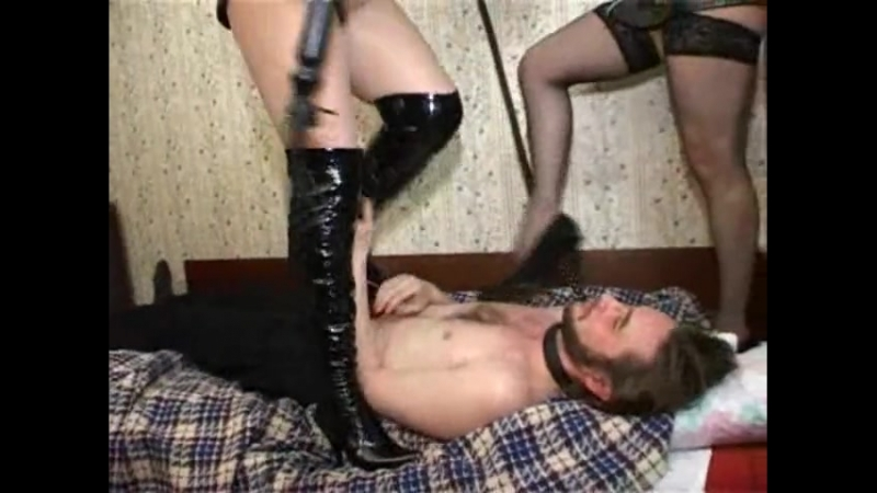 Trampling,Worship,Facesitting two bitches Russian girls boots and heels