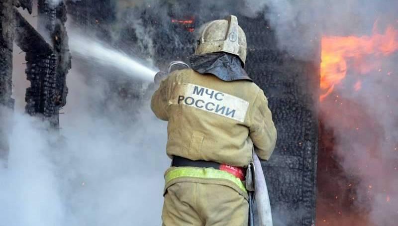 Жилой дом сгорел в Сторожевой
