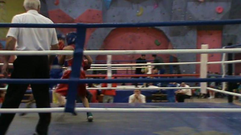 Егор 1 бой 1 раунд