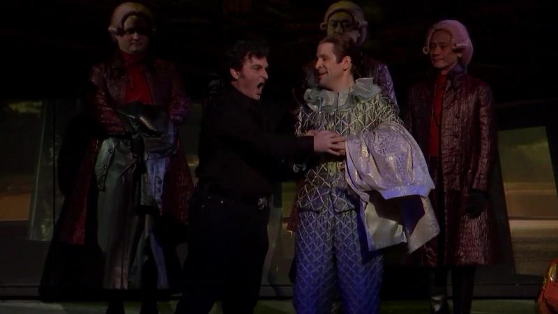 Wiener Staatsoper - Wolfgang Amadeus Mozart Don Giovanni (Вена, 20.01.2018) - Акт I