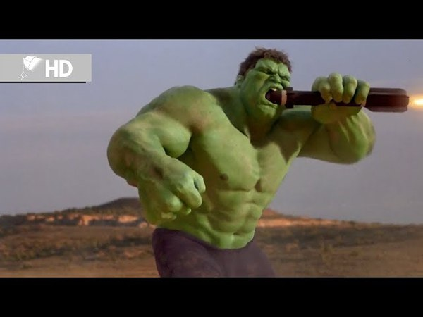 Hulk | Hulk vs Helikopter Savaşı | Klip (69) | HD