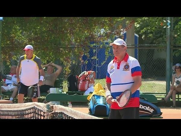 XIII теннисный турнир Большая бескозырка собрал более 70 спортсменов любителей
