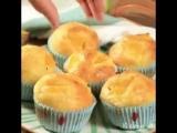 Творожные кексы с апельсином