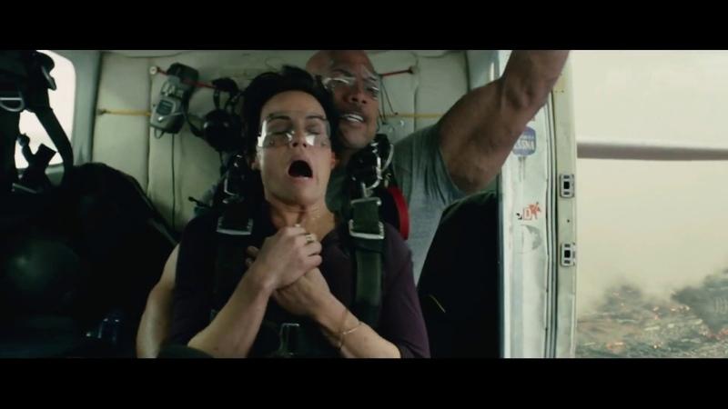 Разлом Сан-Андреас.Невозможность посадки самолёта.Прыжок с парашютом Эммы и Рэя