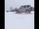 Лучше приспособление для зимы или как ездить по самым заснеженным дорогам