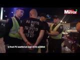 В Киеве хулиганы напали на болельщиков