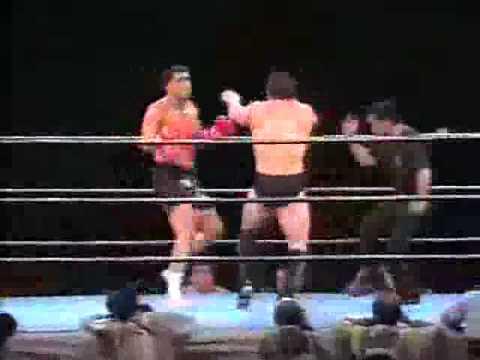 Ken Shamrock vs. Don Nakaya Nielsen - 1992