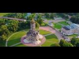 Усадьба Дубровицы с высоты птичьего полёта