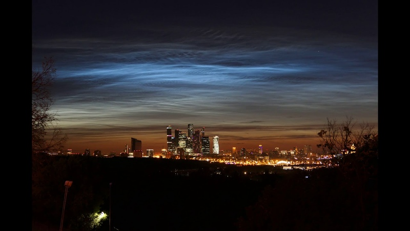 Таймлас Серебристых облаков 27 28 06 2018 Москва