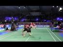 Reup Lee Yong Dae Yoo Y S Badminton MD Exciting Rally