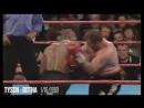 Майк Тайсон vs Франсуа Ботта / Mike Tyson vs Francois Botha Момент боя-Жёсткий Нокаут