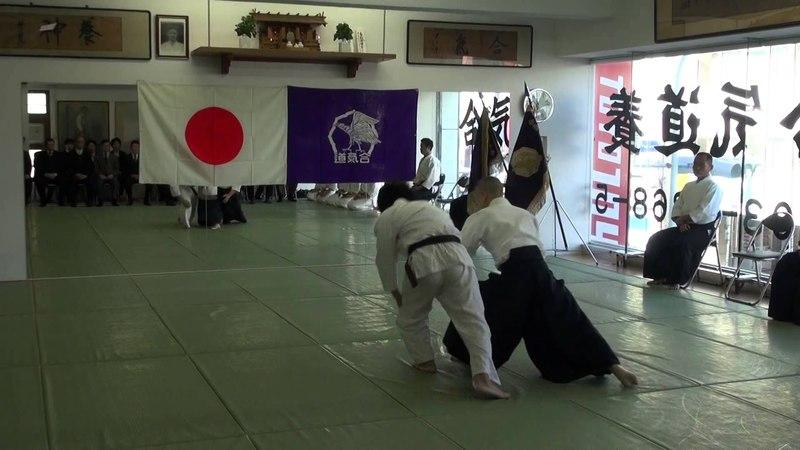 平成26年養神館鏡開き 千野先生の演武 2014Yoshinkan Kagamibiraki Chino Sensei Demo