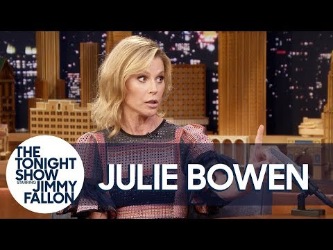 Julie Bowen Has a Strict No Penis-Pulling Rule in Her Home