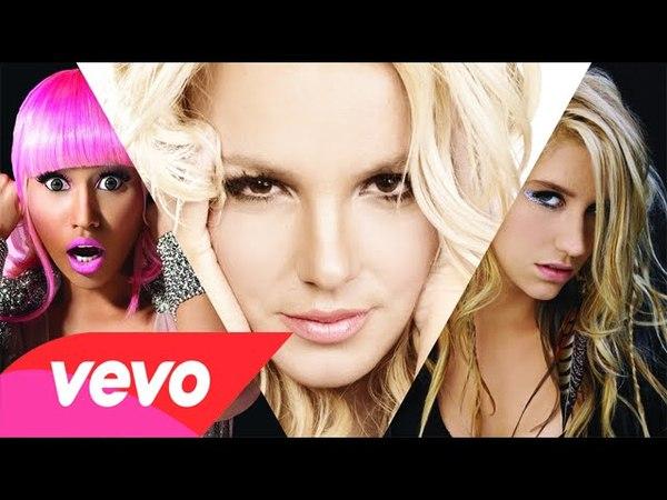 Britney Spears/Nicki Minaj/Ke$ha - Till The World Ends (The Femme Fatale Remix)