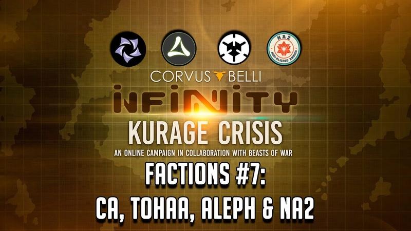 Kurage Crisis Factions 7: CA, Tohaa, ALEPH NA2