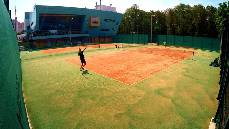 Tennis (grass) 20.06.18 vs Shamil