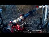TrikExplor 44 Fat Tire Recumbent Quad Cross The East Open-pit