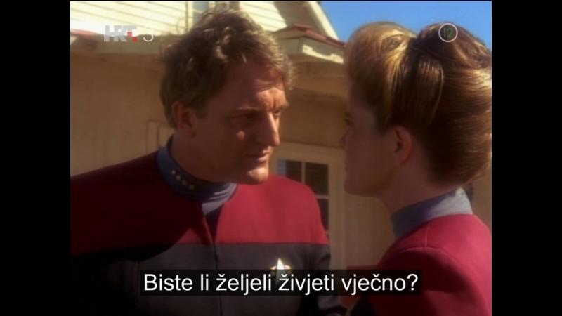 Star Trek: Voyager - Sudenje Q-u zbog zelje za smrtnoscu