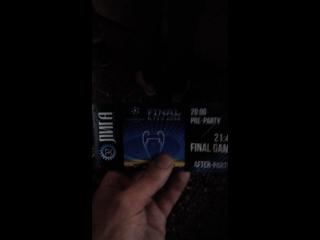 Финал ЛЧ Реал-Ливерпуль. Киев 2018