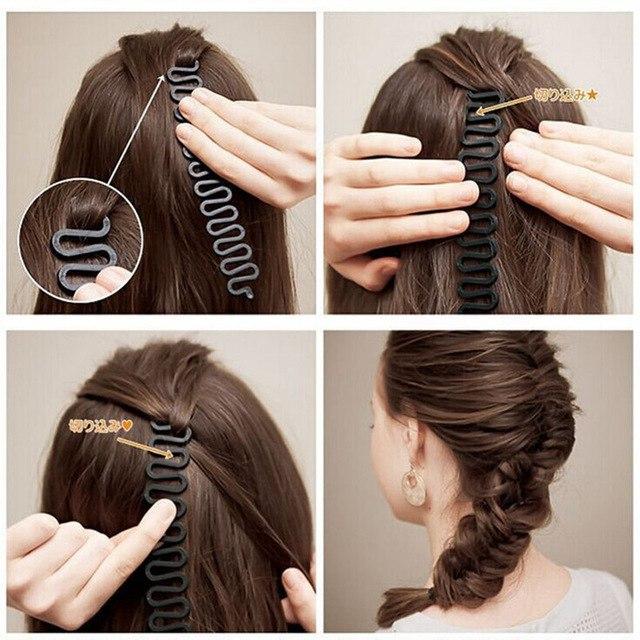 Для плетения косы 063
