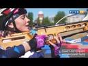 Открытие участка лыже-биатлонной трассы в Муринском парке 1.06.2018