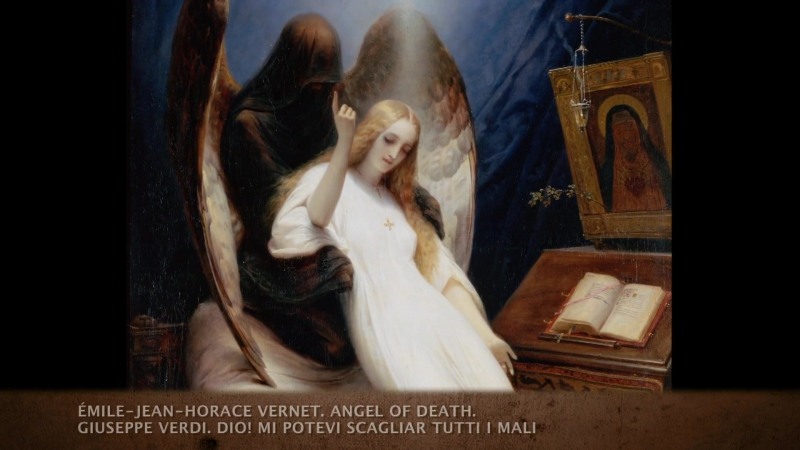 91.Эмиль-Жан-Орас Верне - Ангел смерти (1851)