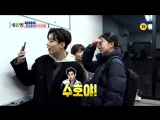 [CUT] 180106 `All Broadcast In The World` @ EXOs Suho and Chanyeol
