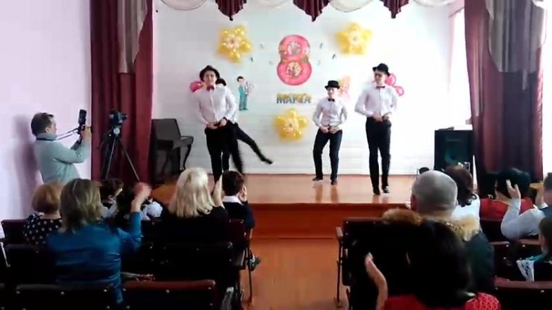 Танец 11 класса. 8 марта <3