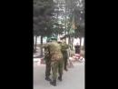 100 лет ПВ России и СССР — от Ямала до Москвы передача флага Тарко-Сале