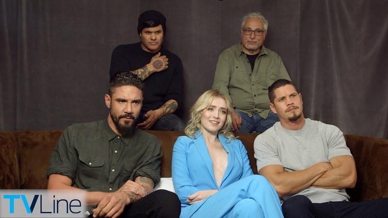Mayans MC Cast Interview | Comic-Con 2018 | TVLine