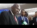 Посол Республики Замбия в России Шедрек Лувита Shedrek Luvita на фестивале Все флаги в гости будут к нам 2017 Обнинск