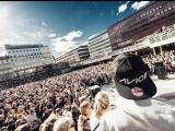 Акция памяти DJ Avicii в Стокгольме