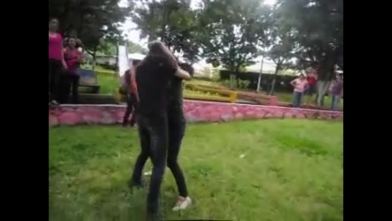 Nice catfight