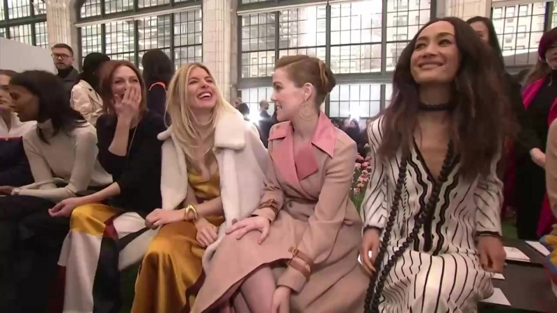 See All the Celebrities Sitting Front Row at New York Fashion Week Fall 2018