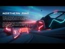 Трейлер трека Arctic гоночной игры Antigraviator!