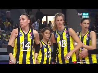 Fenerbahce - Eczacbas VitrA (Vestel Venus Sultanlar Ligi 20172018) 8.Hafta