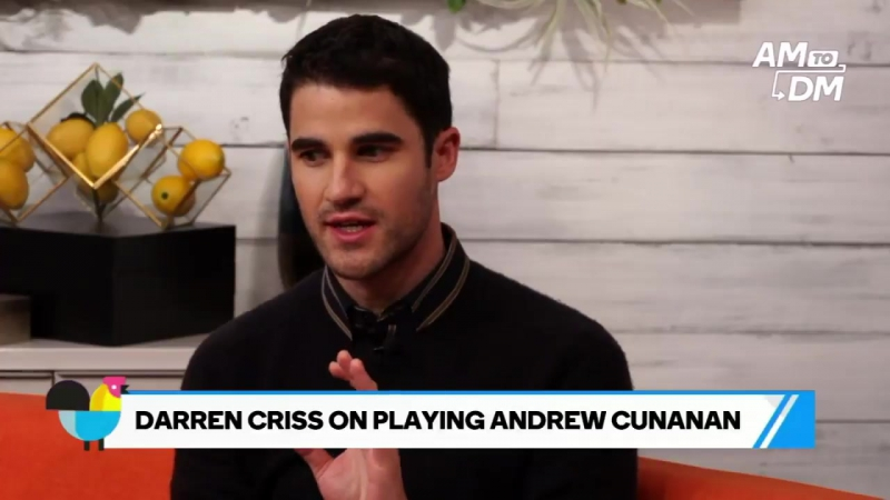 Full interview- @DarrenCriss on playing a killer, serious roles, and the ambiance of American Crime Story