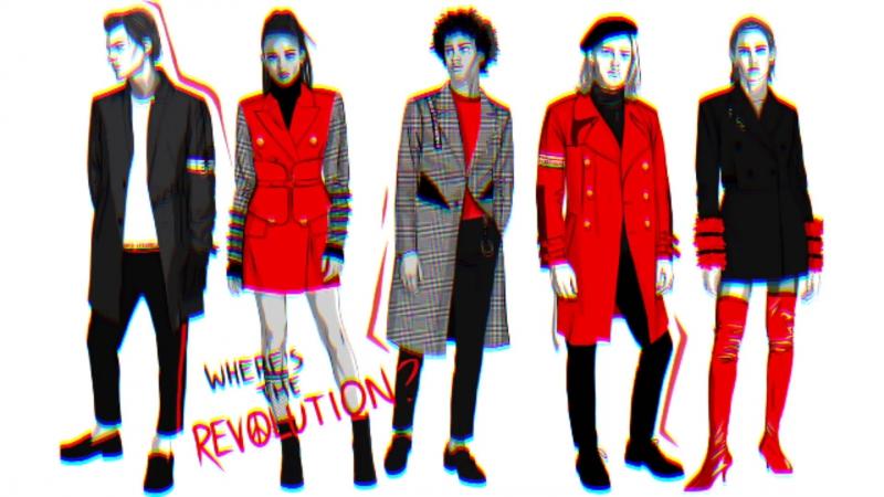Hello, it's me, NIИ.A • AW 18/19 • WHERE'S THE REVOLUTION