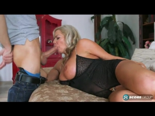 Samantha jayne (samantha jay sucks and fucks young cock)[2017, milf, big tits]