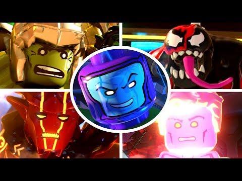 LEGO Marvel Super Heroes 2 - All Bosses Ending