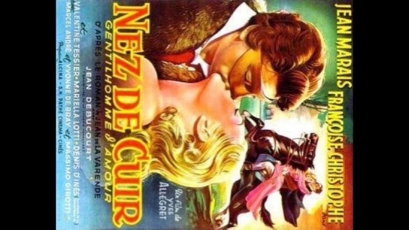 Nez de Cuir: Gentilhomme d'Amour (Nariz de Cuero) (1952) (Español)