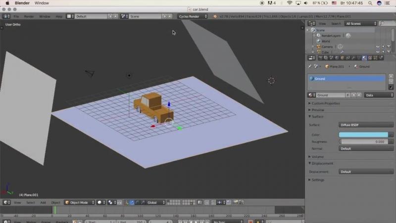 Гоша Дударь Blender 3D моделирование Урок 17 Экспорт объекта в Unity