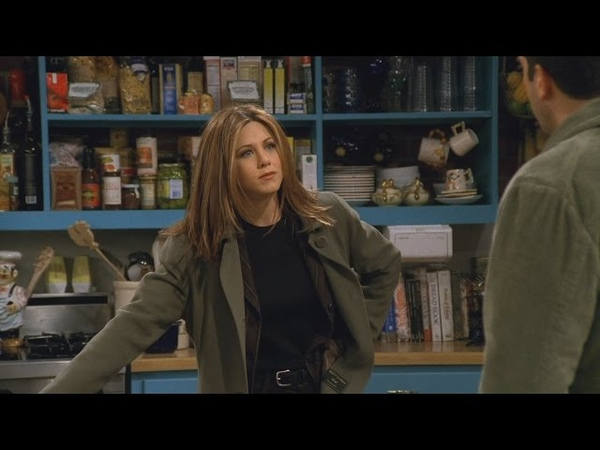 Friends - Rachel finds out that Ross had sex with another girl