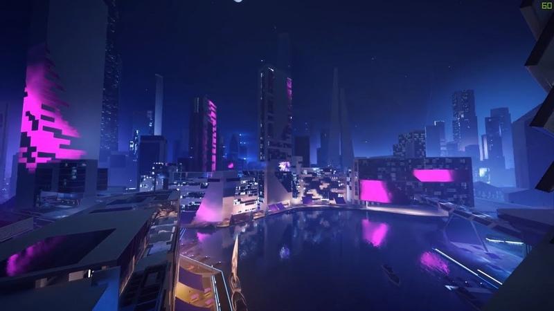 Mirrors Edge Catalyst - The Perfect Night Run - Running Gameplay [1080p 60FPS]