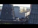 Градирни Ново-Кемеровской ТЭЦ с высоты птичьего полета
