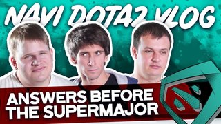 NAVI Dota2 Bootcamp VLOG. Community asks before the SuperMajor