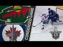 Minnesota Wild vs Winnipeg Jets – Apr. 13, 2018 Game 2 Stanley Cup 2018. Обзор