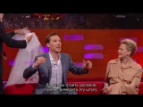 Benedict Cumberbatch Told Stephen Hawking Star Trek Spoilers FOCS | Русские субтитры
