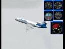 PULKOVO 612 Tupolev Tu-154 85185 crash simulation 08⁄22⁄06 WEATHER RADAR ATTENUATION EFFECT